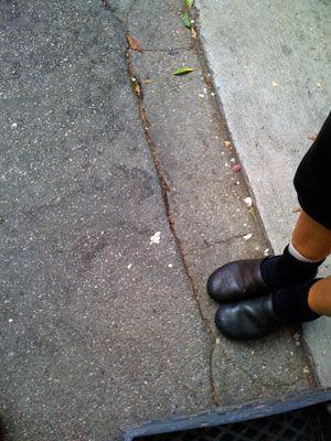 corina feet